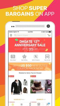 DHgate - Shop Wholesale Prices poster