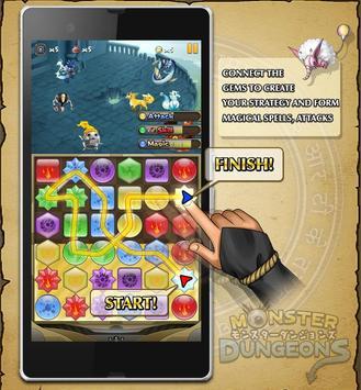 MONSTER DUNGEONS apk screenshot