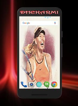 Maria Sharapova Wallpaper Hd capture d'écran 3