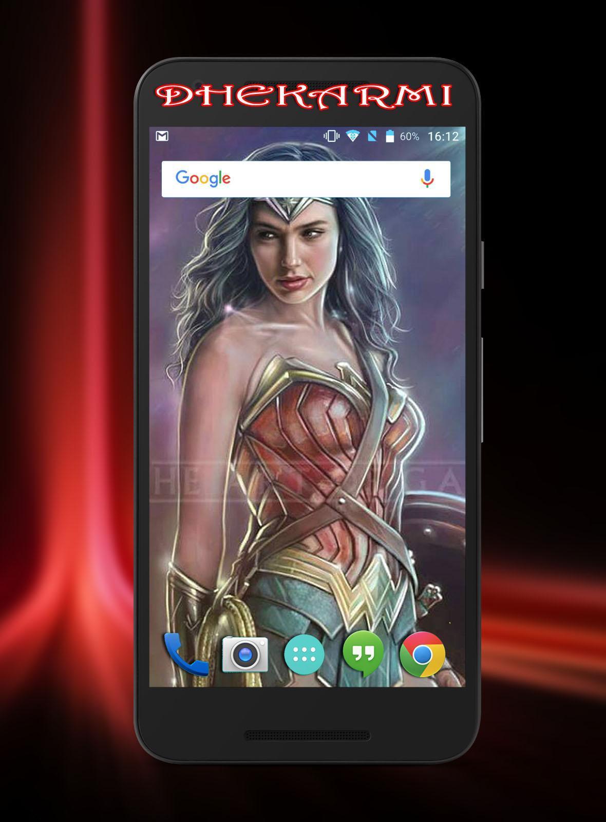Gal Gadot Wonder Woman Wallpaper Hd For Android Apk Download