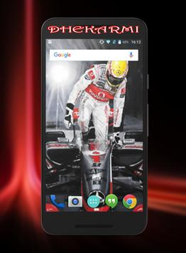 Lewis Hamilton Wallpaper HD screenshot 5
