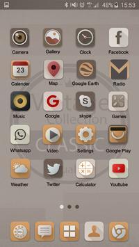 Classic Launcher Theme FREE apk screenshot
