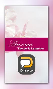 Aroma Launcher Theme FREE poster