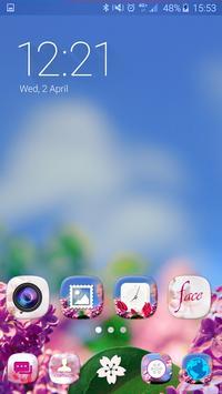 Aroma Launcher Theme FREE apk screenshot