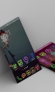 Night Launcher Theme FREE apk screenshot