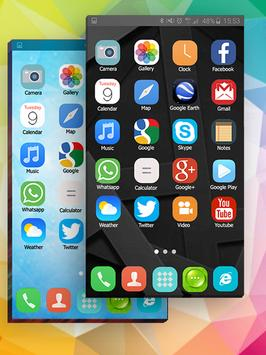 Tema para Samsung S6 Edge, Smart, Clean Launcher captura de pantalla 4