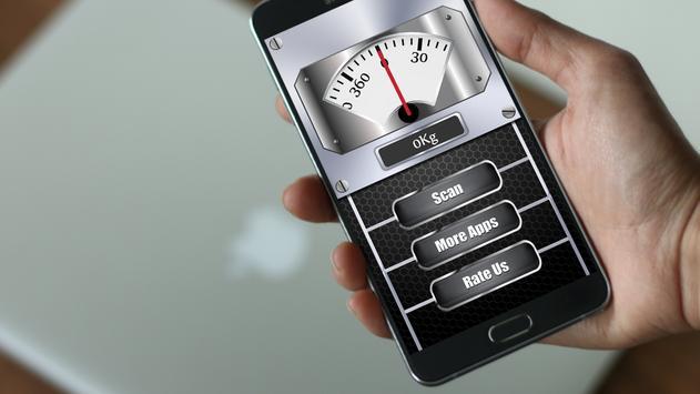 Weight Machine Scanner Prank screenshot 1