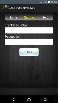 DhiFinder SMS tool screenshot 1