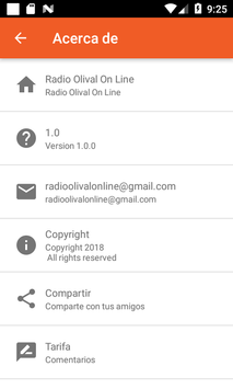 Radio Olival On Line screenshot 1