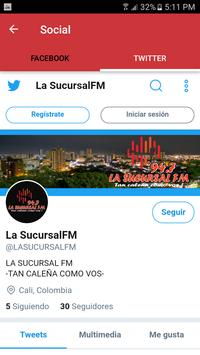 La Sucursal Fm 94.7 screenshot 2