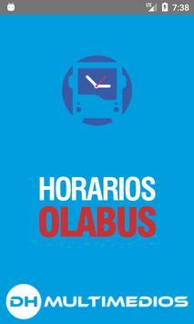 Horarios Olabus poster