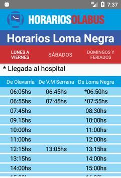 Horarios Olabus screenshot 2