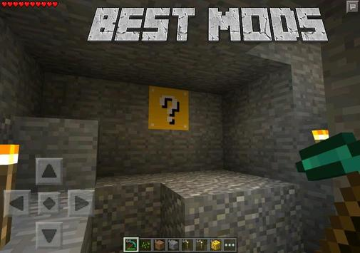 Mods for Minecraft PE Lucky poster