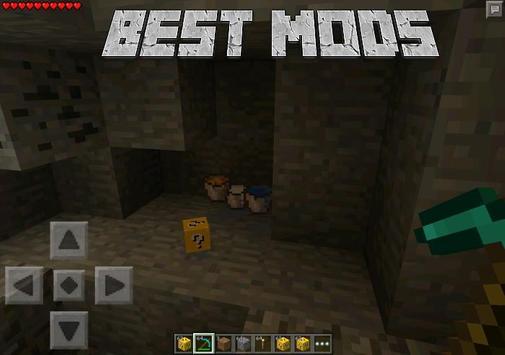 Mods for Minecraft PE Lucky apk screenshot