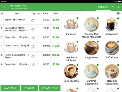 Restaurant POS apk screenshot