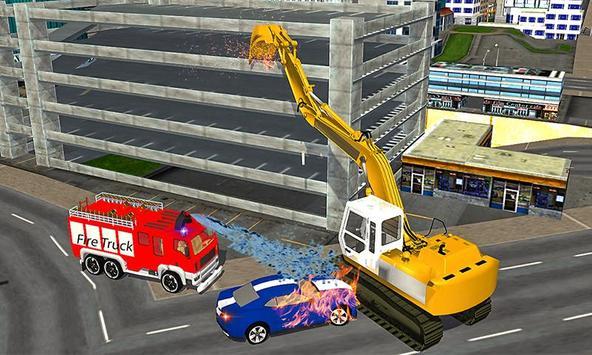 American Truck Firefighter Flying 911 Rescue Robot screenshot 5