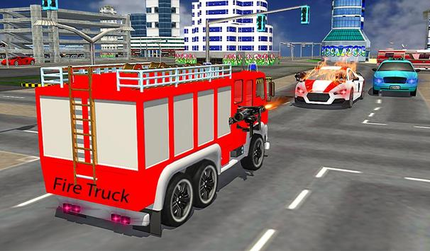 American Truck Firefighter Flying 911 Rescue Robot screenshot 19
