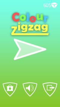 Amazing Color ZigZag poster