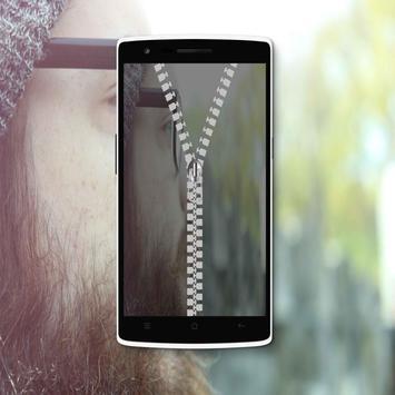 Mustache Zippre Lock Screen screenshot 3