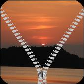 Sunset Zipper Lock Screen icon