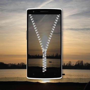 Sunset Zipper Lock Screen screenshot 4