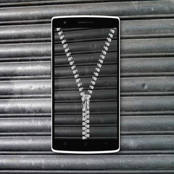 Shutter Zipper Lock Screen screenshot 5