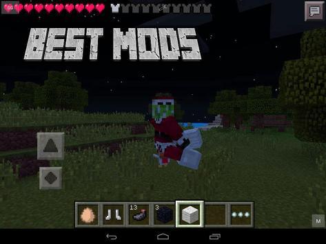 Mods for Minecraft mcpe PE apk screenshot