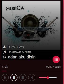 lagu dhyo haw lengkap poster