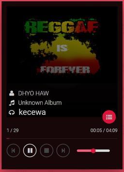 lagu reggae dhyo haw poster