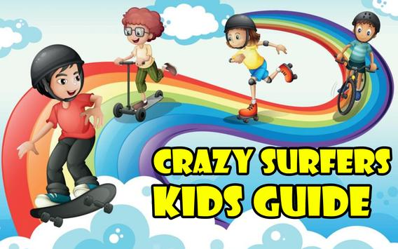 Crazy Surfers Kids Guide poster