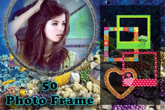 Aquarium Photo Frame apk screenshot