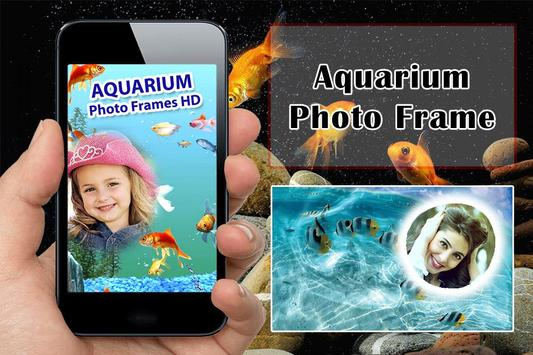 Aquarium Photo Frame poster
