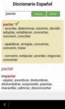 Diccionario Español screenshot 5