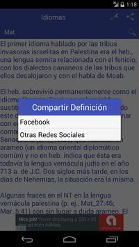 Diccionario Bíblico apk screenshot