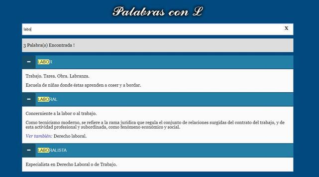 Diccionario Jurídico screenshot 4