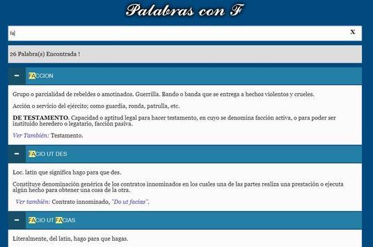 Diccionario Jurídico screenshot 6