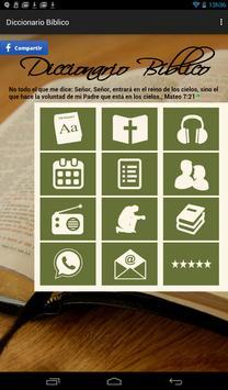 Diccionario Bíblico en Español poster