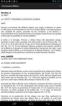 Diccionario Bíblico en Español screenshot 1