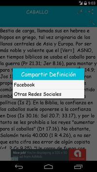 Diccionario Bíblico Nelson apk screenshot