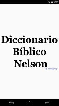 Diccionario Bíblico Nelson poster