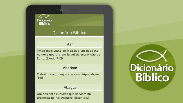 Dicionário Bíblico स्क्रीनशॉट 8
