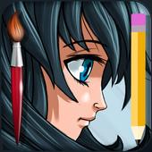 Draw an Anime icon