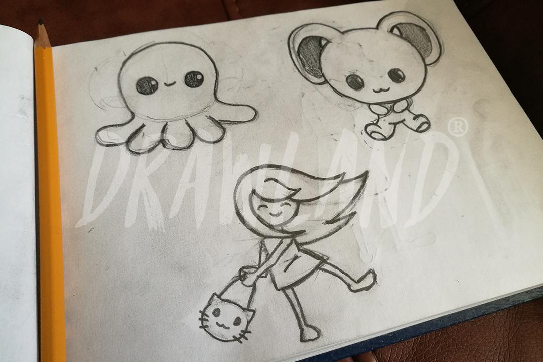Como Desenhar Kawaii Passo A Passo Aprender Para Android