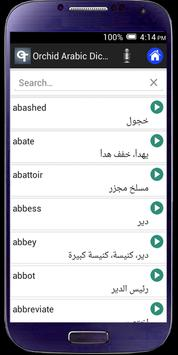 Dictionary Arabe-English poster