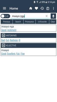 English Cebuano Dictionary apk screenshot