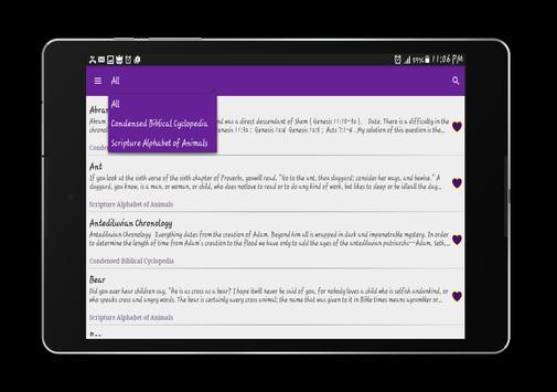 Biblical Encyclopedia apk screenshot