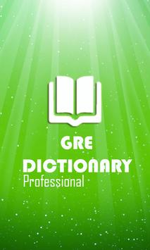 GRE Dictionary Pro poster