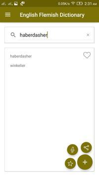 English Flemish Dictionary screenshot 2