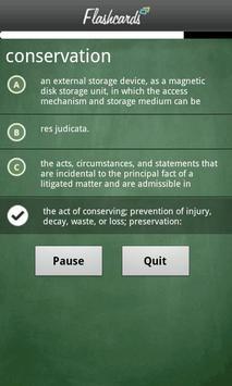 Dictionary.com Flashcards screenshot 3