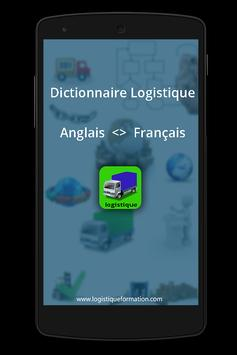 logistique anglais <> francais poster
